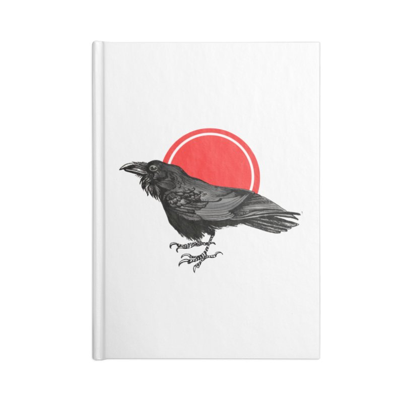 Raven Accessories Lined Journal Notebook by NIKARNOLDI