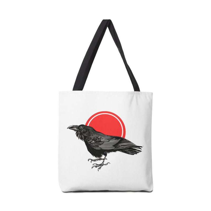 Raven Accessories Tote Bag Bag by NIKARNOLDI.art