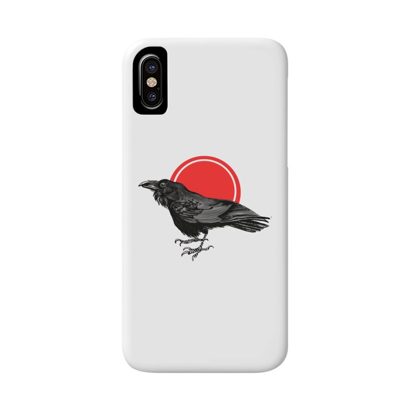 Raven Accessories Phone Case by NIKARNOLDI.art