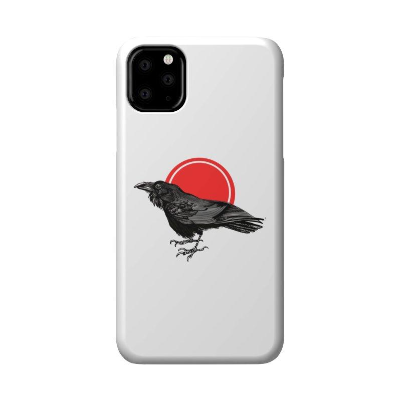 Raven Accessories Phone Case by NIKARNOLDI