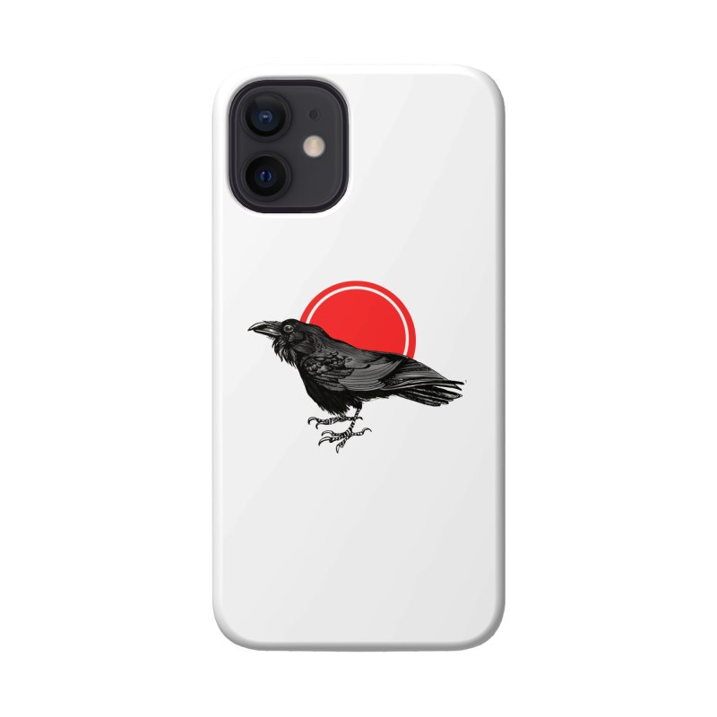 Raven Accessories Phone Case by NIKARNOLDI