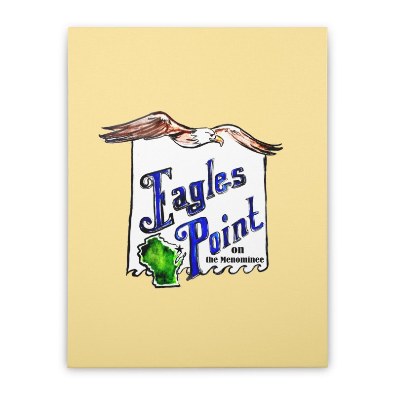 Eagles Point Classic Home Stretched Canvas by NIKARNOLDI.art