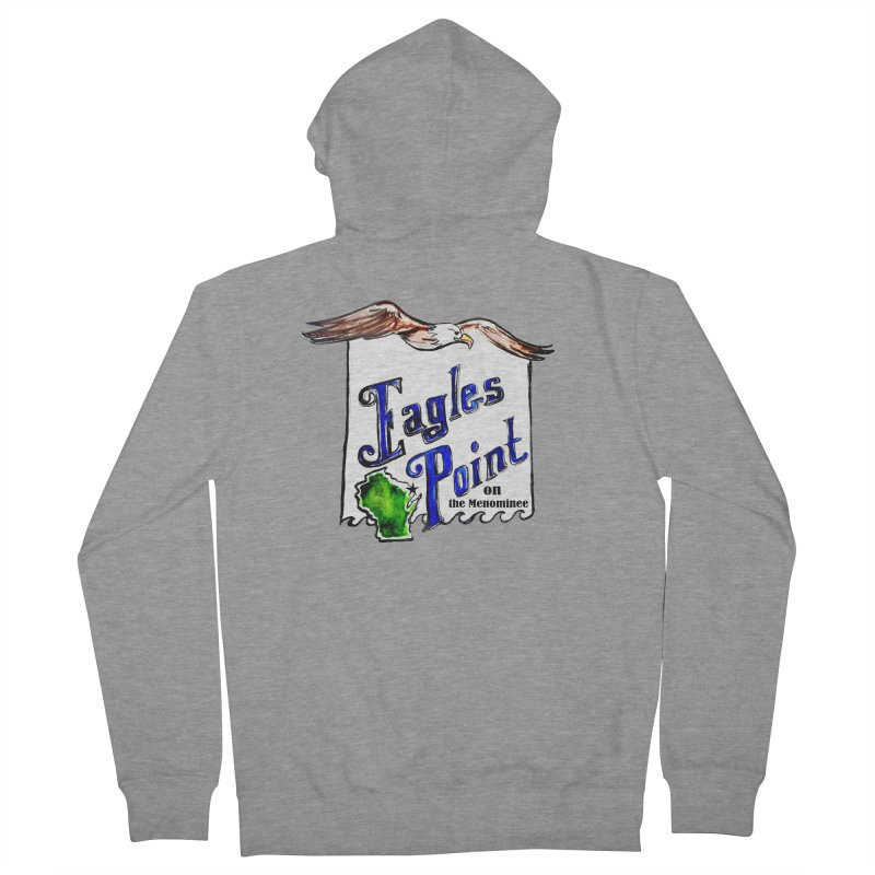 Eagles Point Classic Women's Zip-Up Hoody by NIKARNOLDI.art
