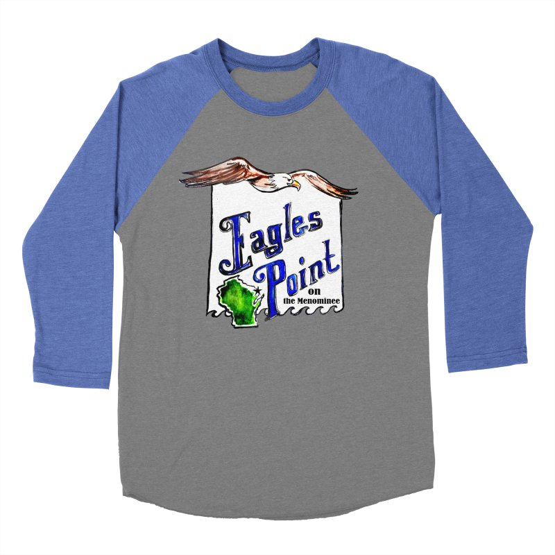 Eagles Point Classic Women's Baseball Triblend T-Shirt by NIKARNOLDI.art