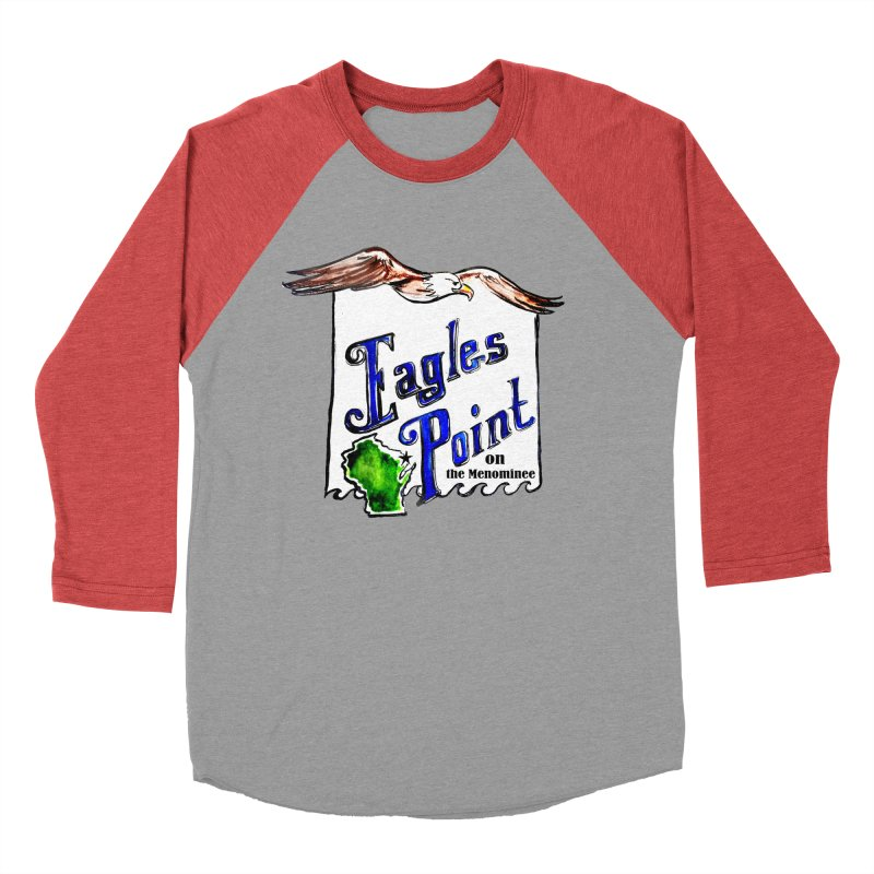 Eagles Point Classic Men's Baseball Triblend T-Shirt by NIKARNOLDI.art