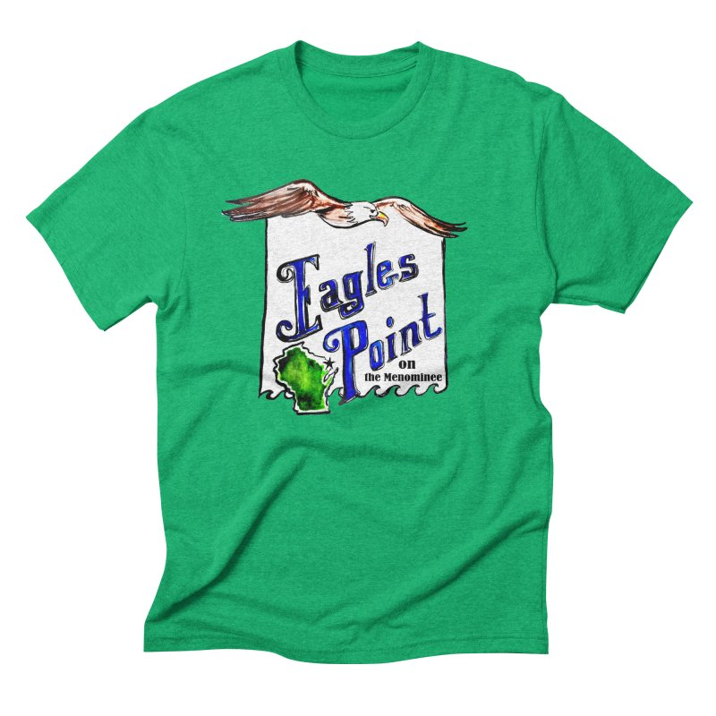 Eagles Point Classic Men's Triblend T-shirt by NIKARNOLDI.art