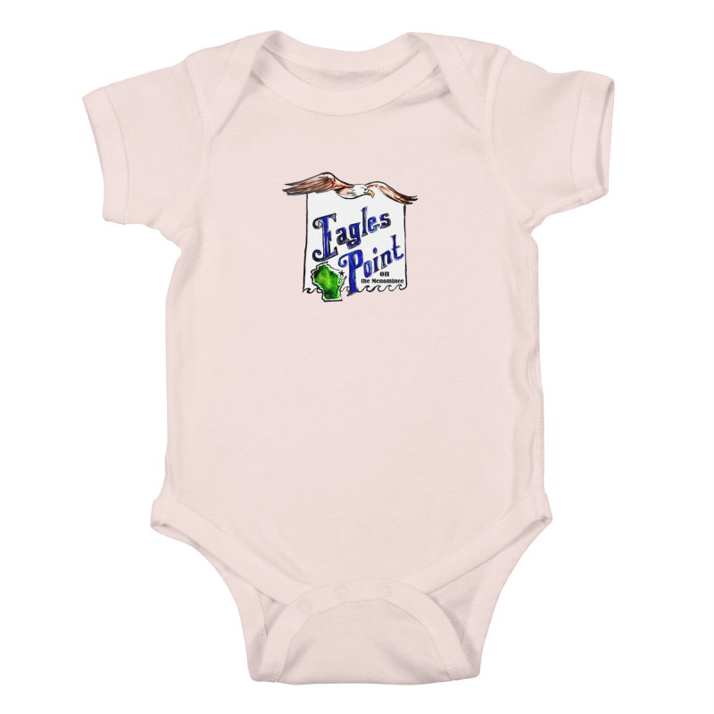 Eagles Point Classic Kids Baby Bodysuit by NIKARNOLDI.art