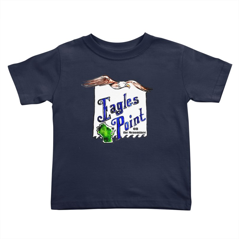 Eagles Point Classic Kids Toddler T-Shirt by NIKARNOLDI.art