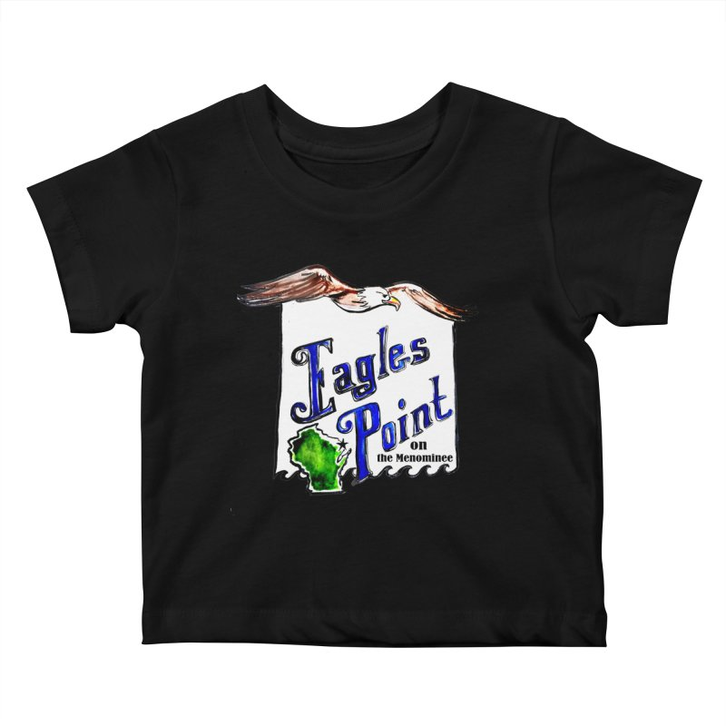 Eagles Point Classic Kids Baby T-Shirt by NIKARNOLDI.art