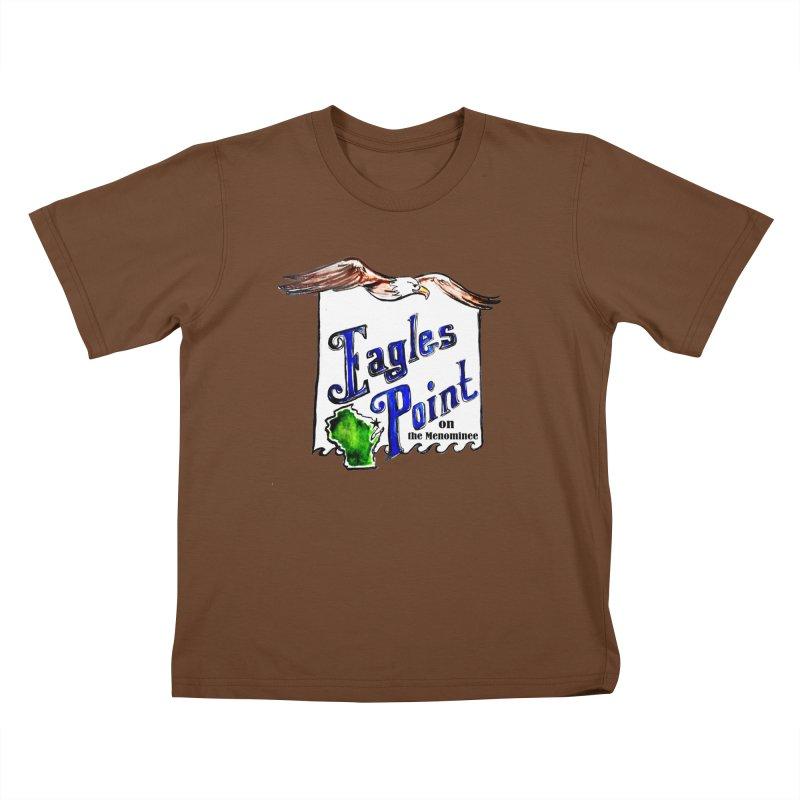 Eagles Point Classic Kids T-shirt by NIKARNOLDI.art