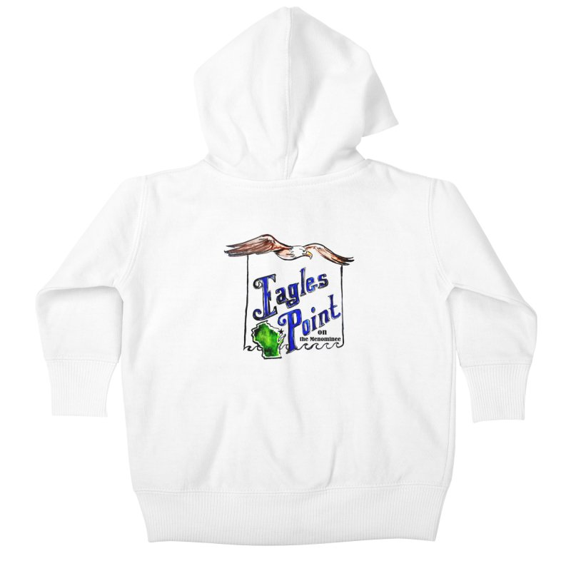 Eagles Point Classic Kids Baby Zip-Up Hoody by NIKARNOLDI.art