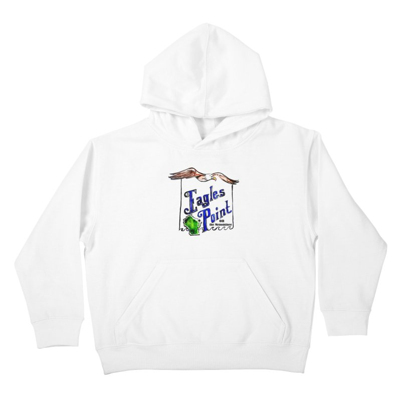 Eagles Point Classic Kids Pullover Hoody by NIKARNOLDI.art