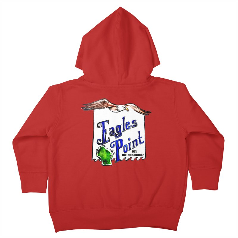 Eagles Point Classic Kids Toddler Zip-Up Hoody by NIKARNOLDI.art