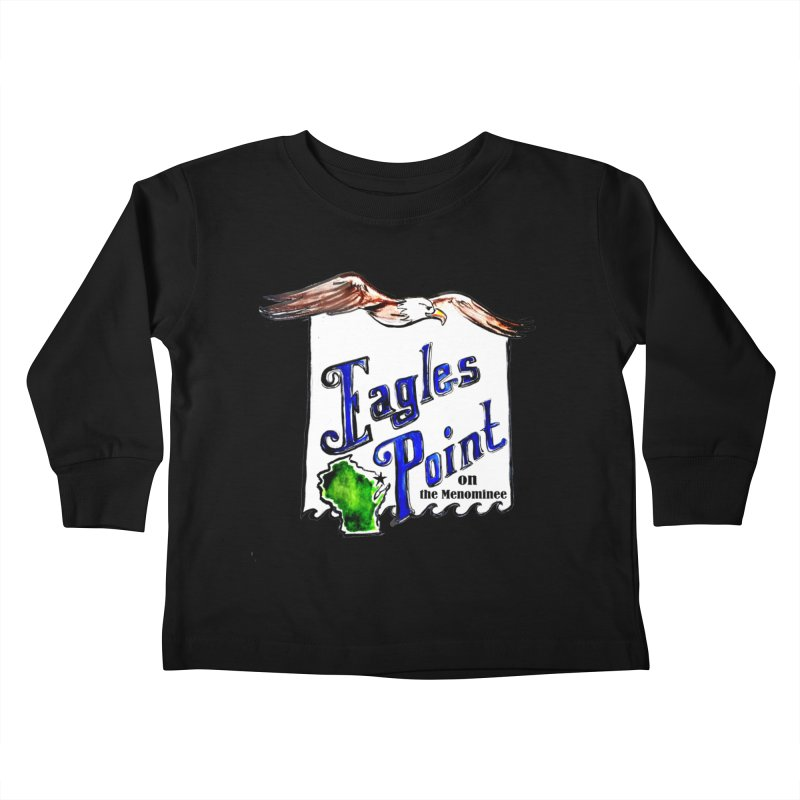 Eagles Point Classic Kids Toddler Longsleeve T-Shirt by NIKARNOLDI.art