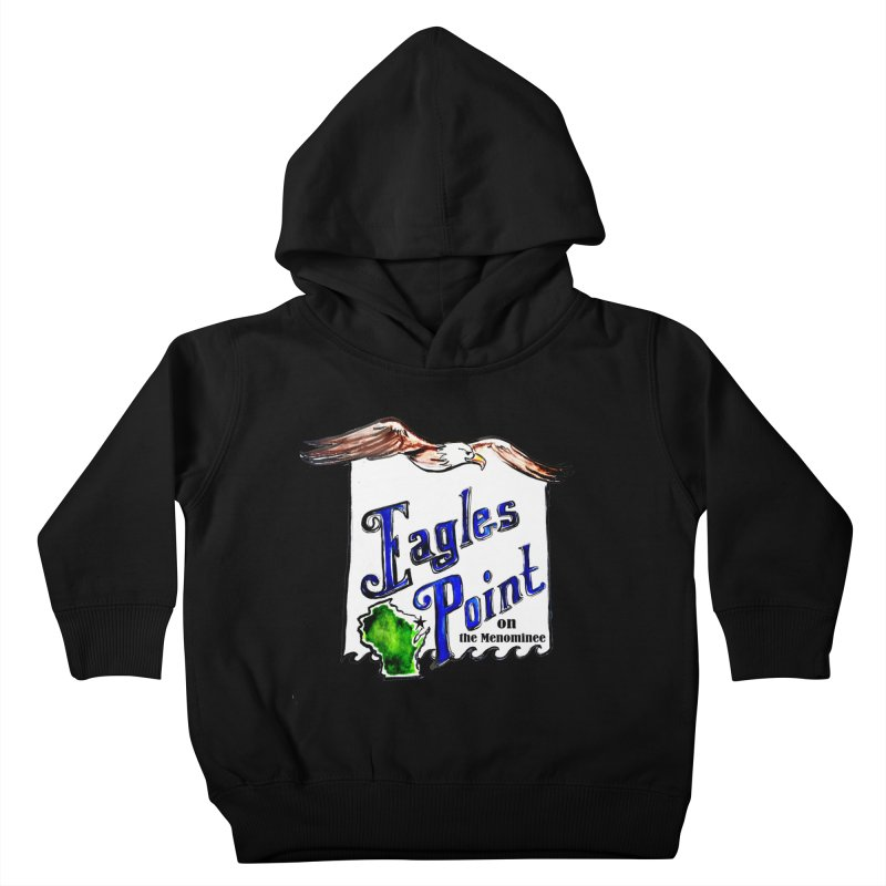 Eagles Point Classic Kids Toddler Pullover Hoody by NIKARNOLDI.art