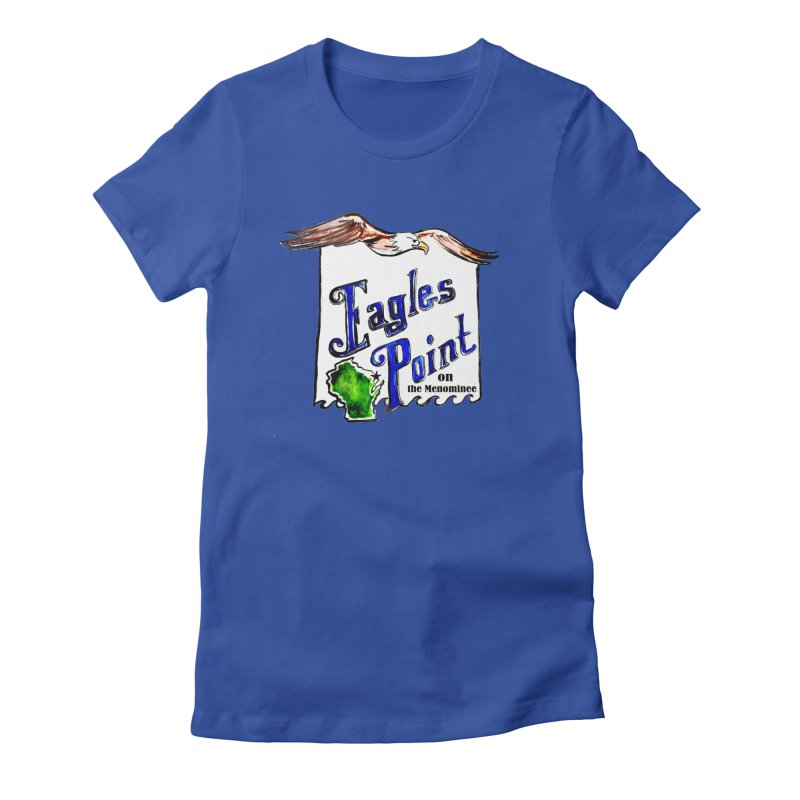 Eagles Point Classic Women's Fitted T-Shirt by NIKARNOLDI.art