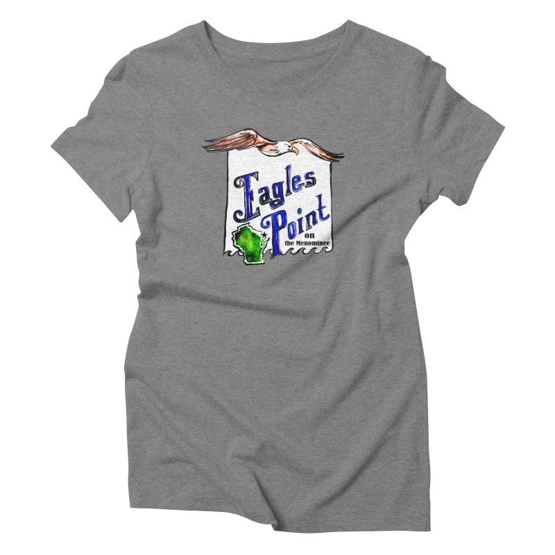 Eagles Point Classic Women's Triblend T-shirt by NIKARNOLDI.art