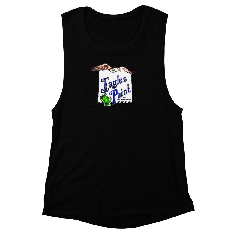 Eagles Point Classic Women's Muscle Tank by NIKARNOLDI.art