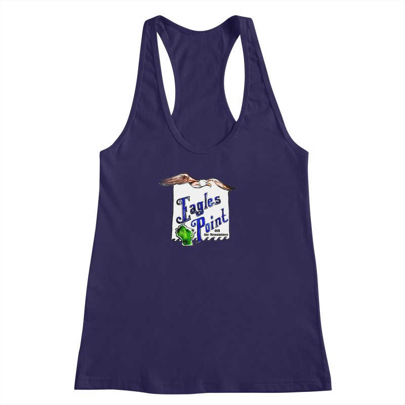 Eagles Point Classic Women's Racerback Tank by NIKARNOLDI.art