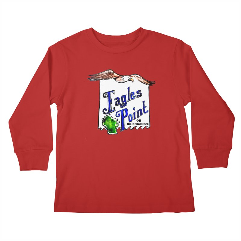 Eagles Point Classic Kids Longsleeve T-Shirt by NIKARNOLDI.art