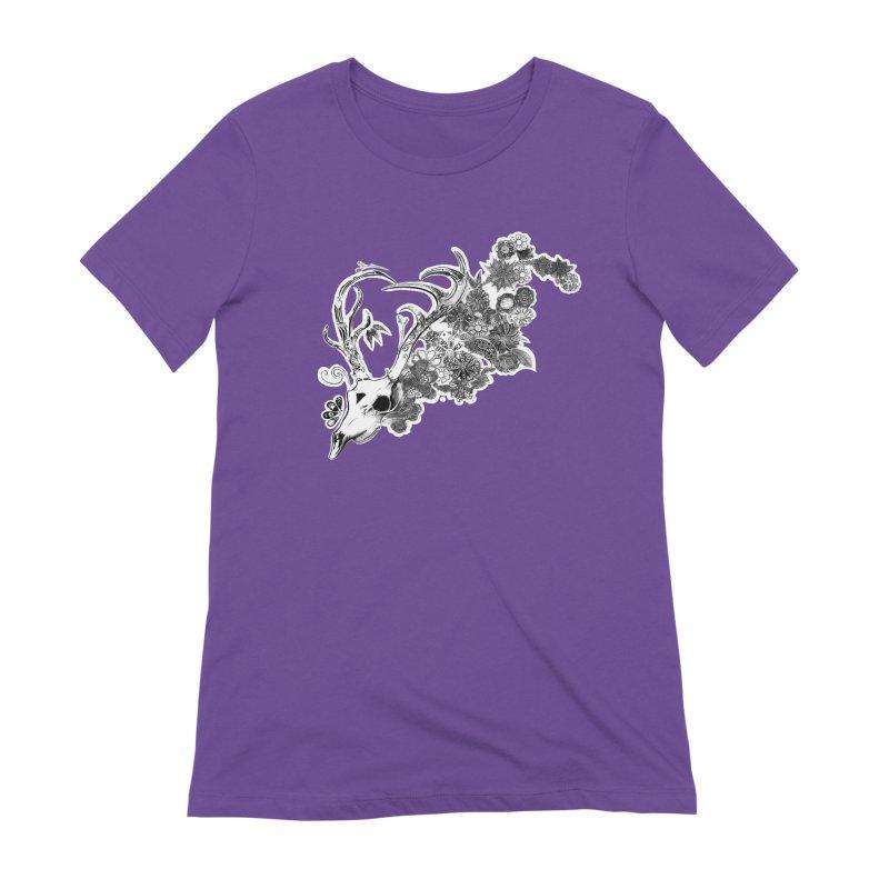 Masquerade Women's Extra Soft T-Shirt by NIKARNOLDI