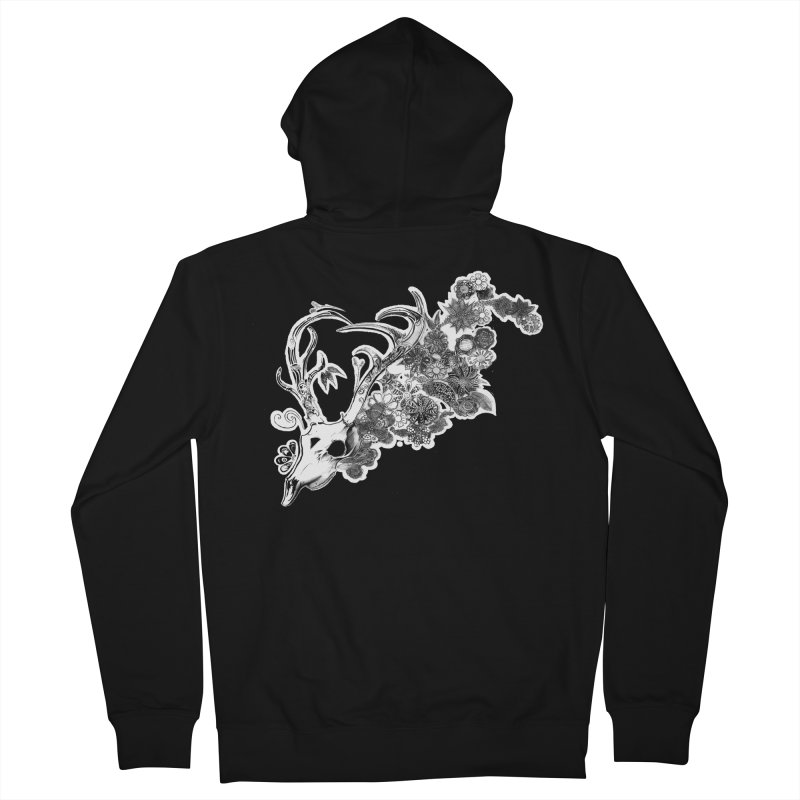 Masquerade Men's Zip-Up Hoody by NIKARNOLDI
