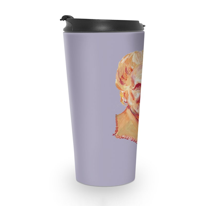 Maria Accessories Travel Mug by NIKARNOLDI