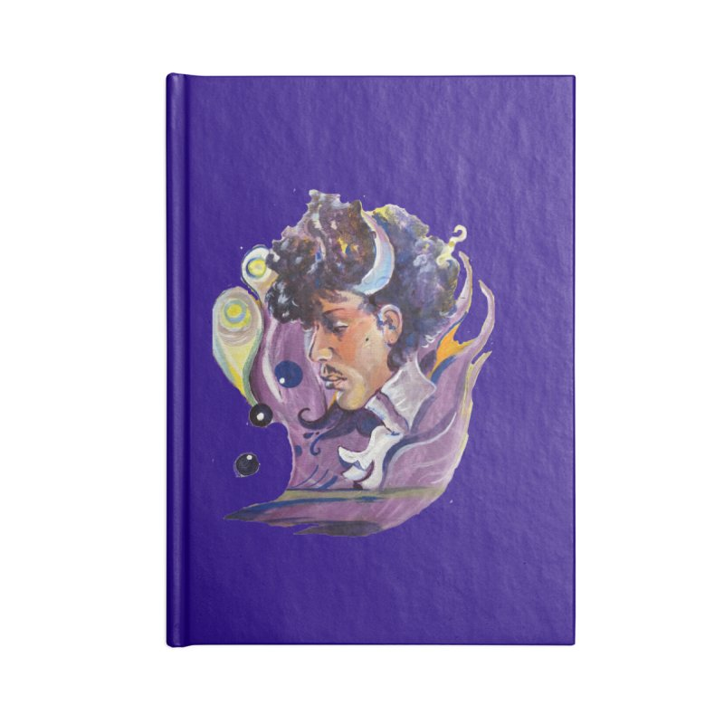 & the Revolution Accessories Lined Journal Notebook by NIKARNOLDI