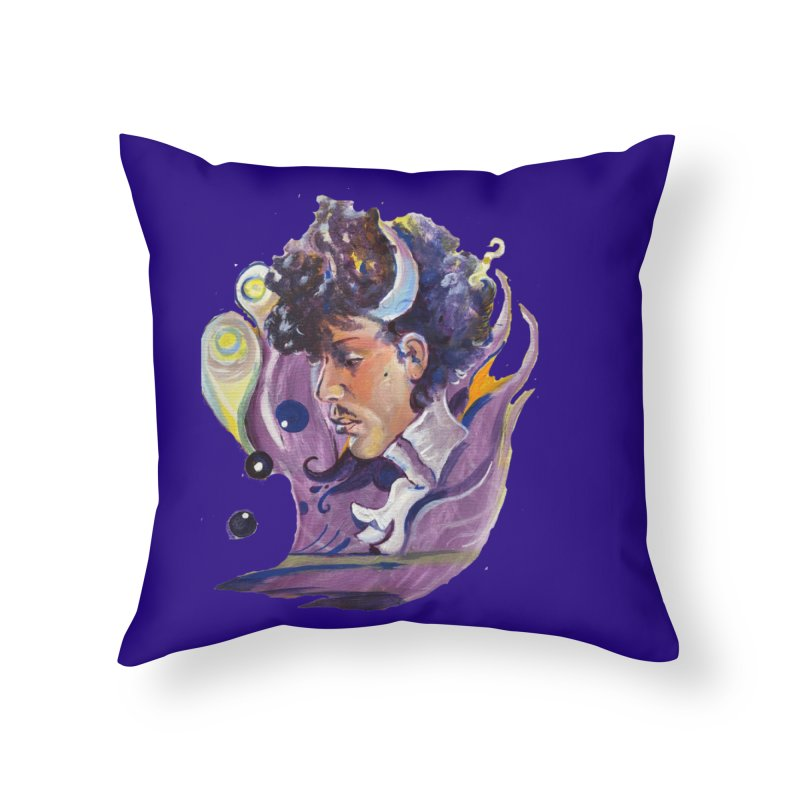 & the Revolution Home Throw Pillow by NIKARNOLDI