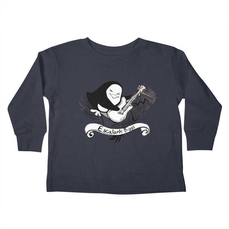 EBA Rocks Kids Toddler Longsleeve T-Shirt by NIKARNOLDI.art