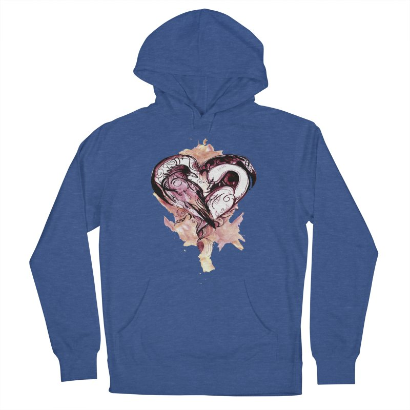 Raven & the Swan Women's Pullover Hoody by NIKARNOLDI.art
