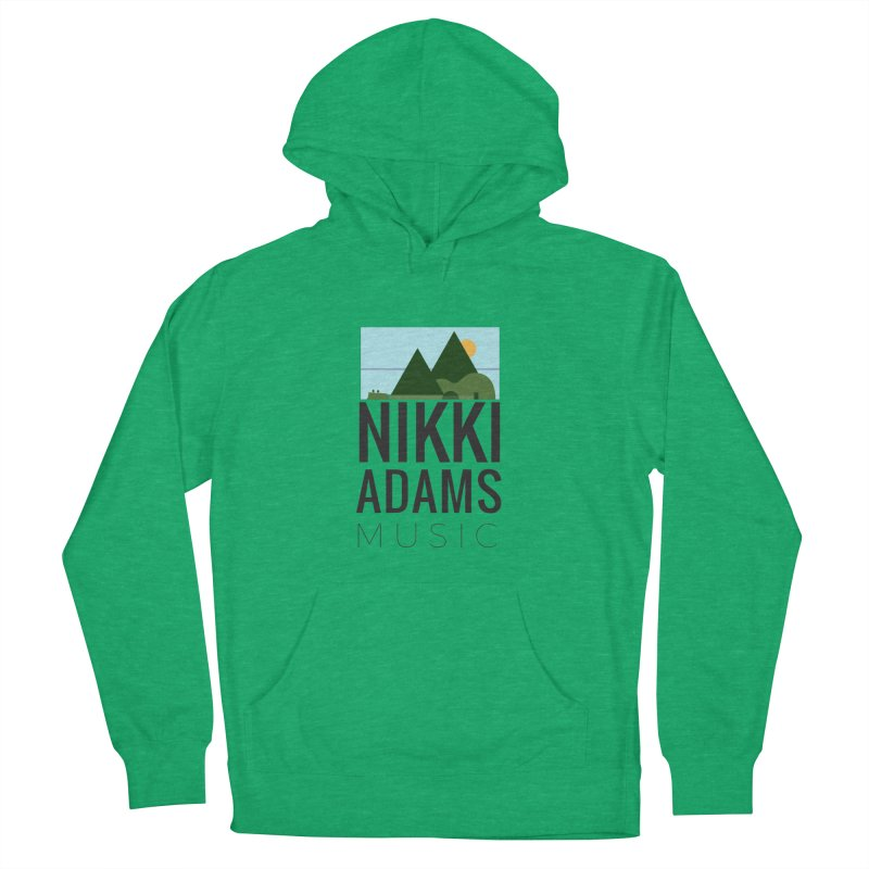 Nikki Adams Music Women's French Terry Pullover Hoody by nikkiadamsmusic's Artist Shop