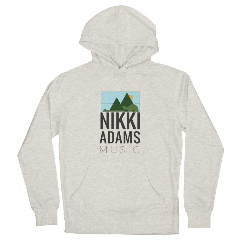 Nikki Adams Music Men's French Terry Pullover Hoody by nikkiadamsmusic's Artist Shop