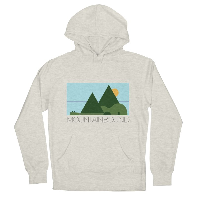 Mountain Bound Women's French Terry Pullover Hoody by nikkiadamsmusic's Artist Shop