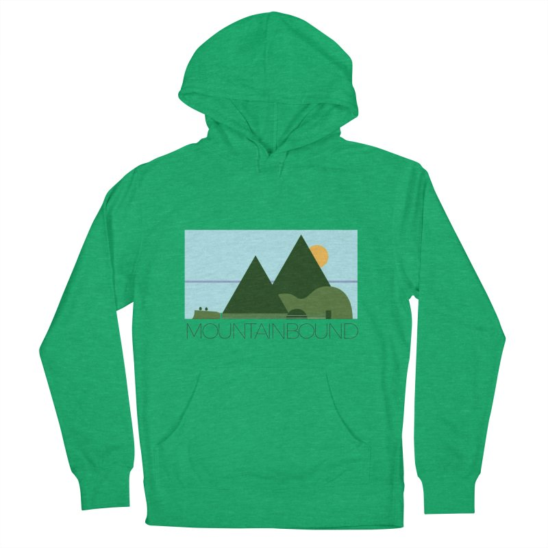 Mountain Bound Men's French Terry Pullover Hoody by nikkiadamsmusic's Artist Shop