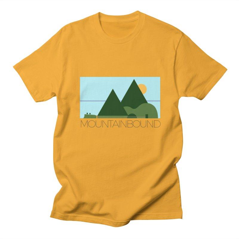 Mountain Bound Men's T-Shirt by nikkiadamsmusic's Artist Shop