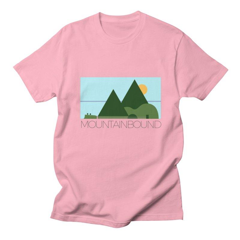 Mountain Bound Men's Regular T-Shirt by nikkiadamsmusic's Artist Shop