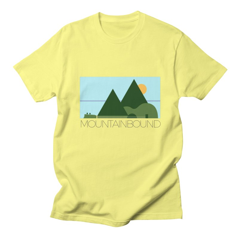 Mountain Bound Women's Regular Unisex T-Shirt by nikkiadamsmusic's Artist Shop