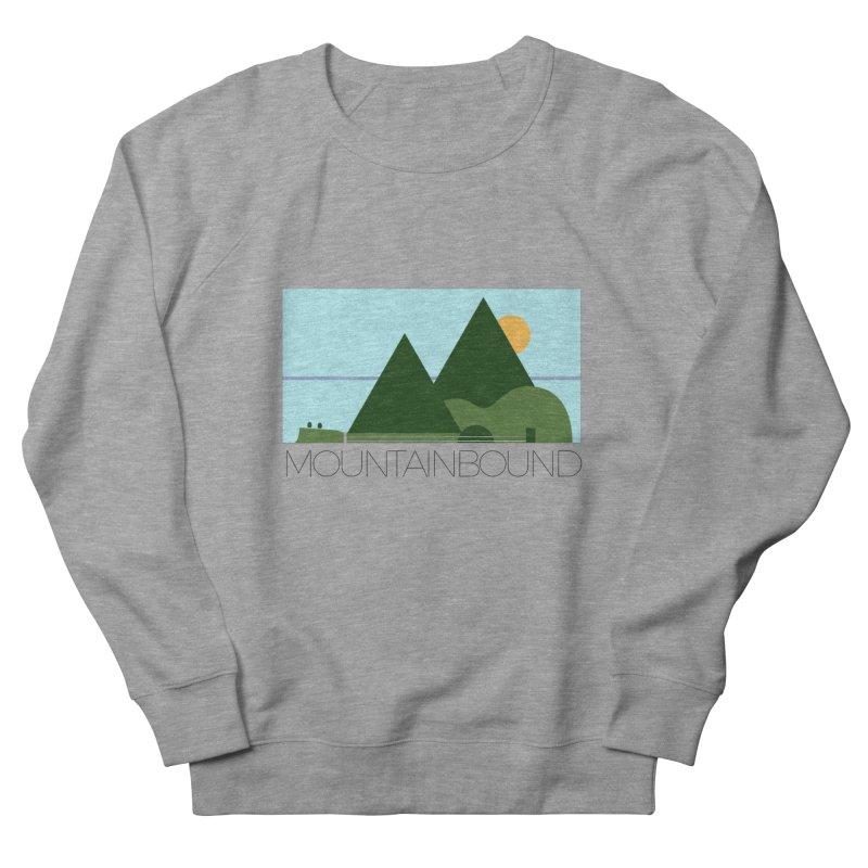 Mountain Bound Men's French Terry Sweatshirt by nikkiadamsmusic's Artist Shop