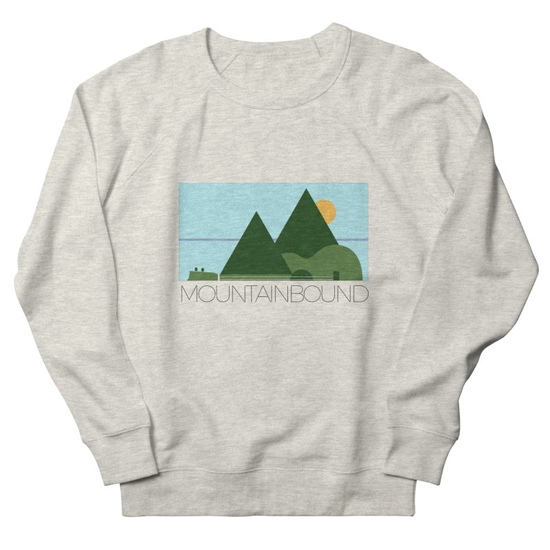 Mountain Bound Men's French Terry Sweatshirt by nikkiadamsmusic's Artist Shop