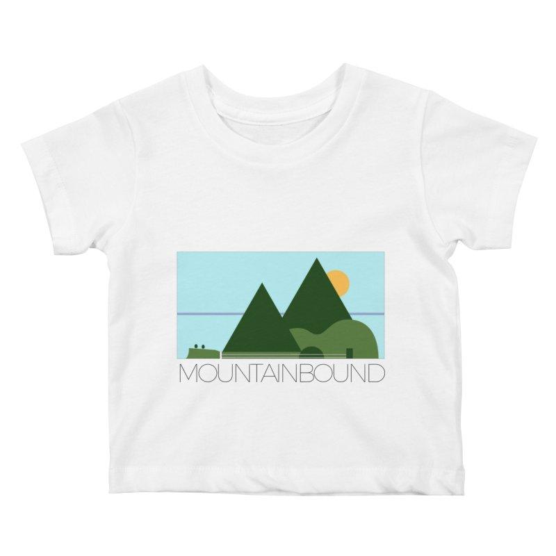 Mountain Bound Kids Baby T-Shirt by nikkiadamsmusic's Artist Shop
