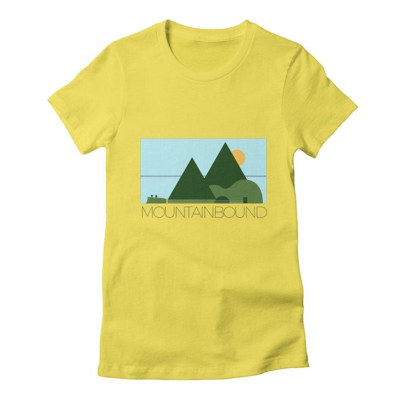 Mountain Bound Women's T-Shirt by nikkiadamsmusic's Artist Shop