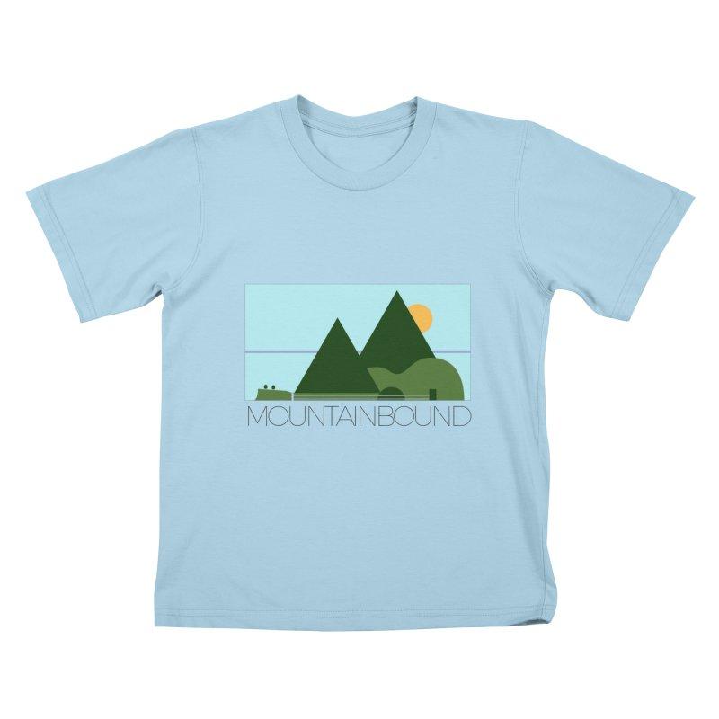 Mountain Bound Kids T-Shirt by nikkiadamsmusic's Artist Shop