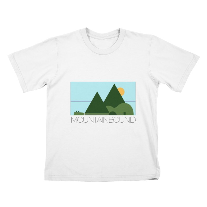 Mountain Bound Kids T-Shirt by nikkiadamsmusic's Artist Shop
