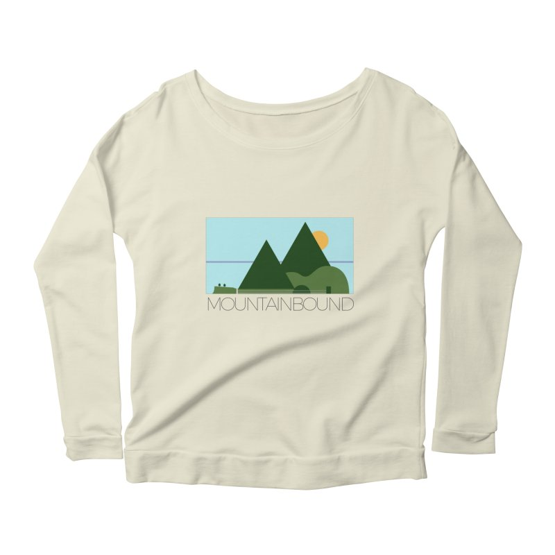 Mountain Bound Women's Scoop Neck Longsleeve T-Shirt by nikkiadamsmusic's Artist Shop