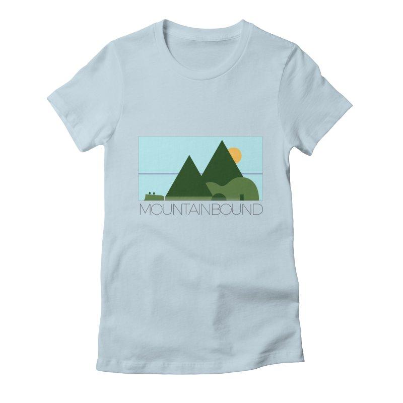 Mountain Bound Women's Fitted T-Shirt by nikkiadamsmusic's Artist Shop