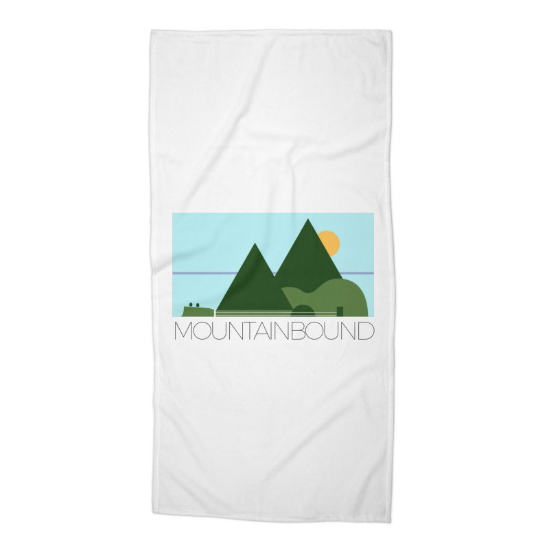 Mountain Bound Accessories Beach Towel by nikkiadamsmusic's Artist Shop