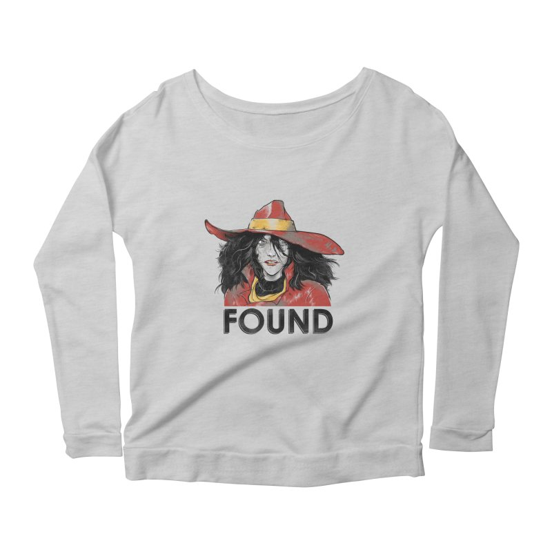 Found Women's Longsleeve Scoopneck  by Nikoby's Artist Shop