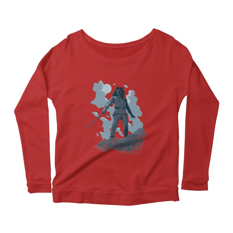 Prepare to... Women's Longsleeve Scoopneck  by Nikoby's Artist Shop