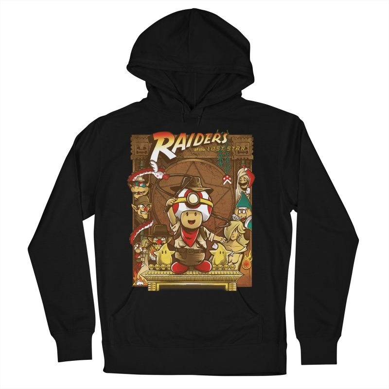 Raiders of the Lost Star Men's Pullover Hoody by Nikoby's Artist Shop